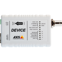 Axis T8642 Poe+ Over Coax Devi