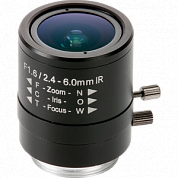 Lens Cs 2.4-6Mm Manual Iris