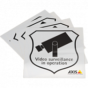 Surveillance Sticker Eng 10Pcs